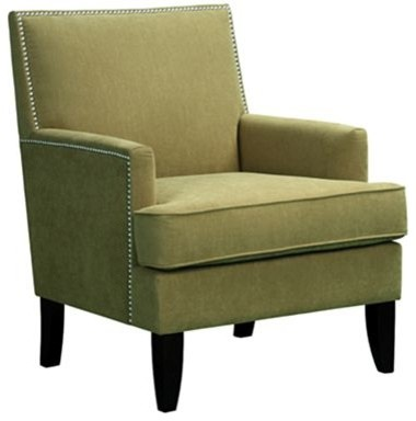 Elise Accent Chair Green  Contemporary  Armchairs And