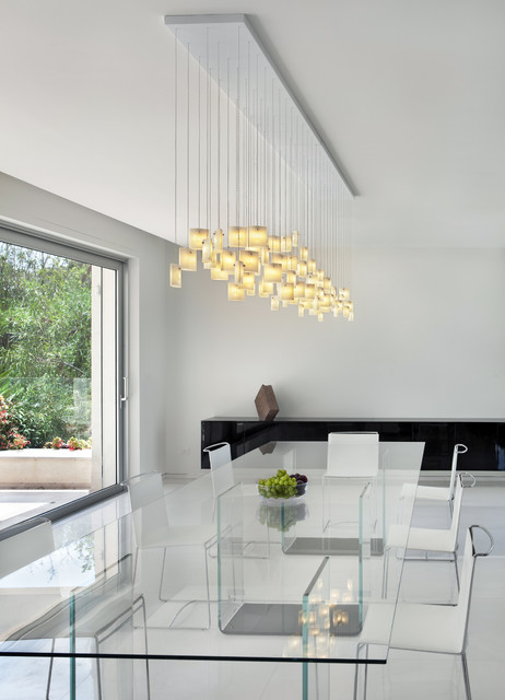 Orchids Chandelier By Galilee Lighting Contemporary Dining Room Modern