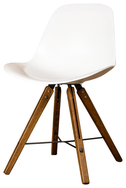 oak and white dining chairs cold steel chair tips shell fumed by ebpeters