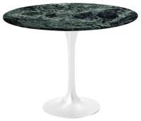 "36"" Round Saarinen Table, White Base, Coated Verdi Alpi ..."