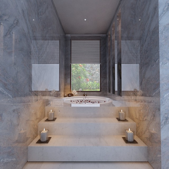 Sensual Private Bath For Two Modern Bathroom Other By 10x10 Design Houzz Uk