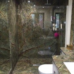 Decorating Ideas For The Living Room Walls Draperies Rainforest Green Marble - Bathroom