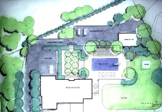SITE PLAN FOR SEATTLE CONTEMPORARY