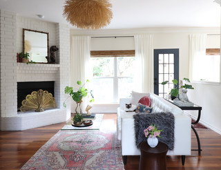 My Houzz: Moody Wall Treatments And Eclectic Style ( Photos)