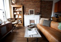 My Houzz: Warm Industrial Style in a Brooklyn Apartment ...