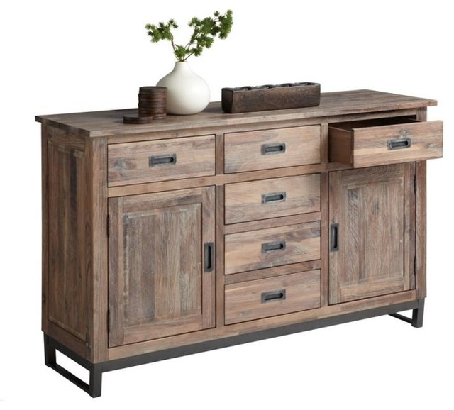 Hmapton Sideboard Rustic Buffets And Sideboards By