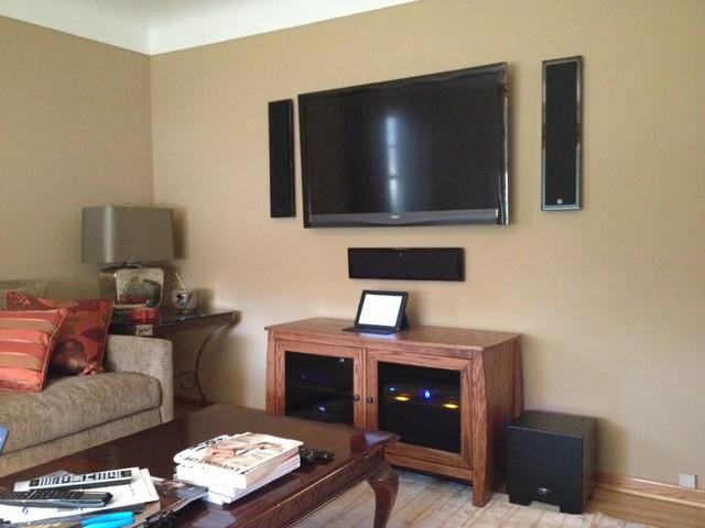 HiFi Living Room  Contemporary  Family Room