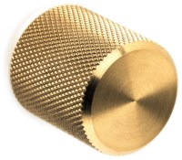 Rok Knurled Knob Drawer Pull - Modern - Cabinet And Drawer ...
