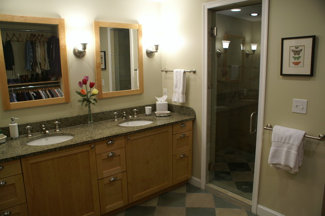 kitchen remodeling birmingham mi white granite master closet/bath combination ...