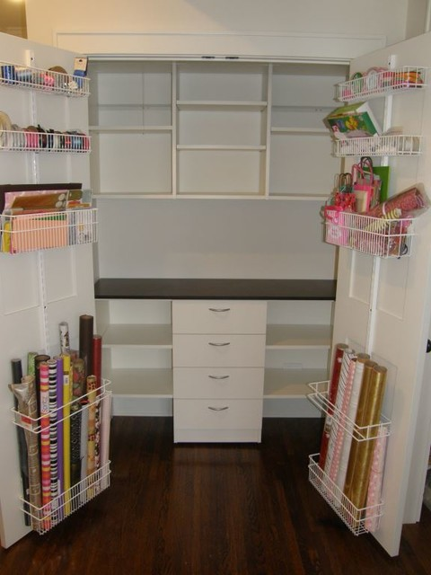 Craft Closet By Closets For Life Traditional Wardrobe Minneapolis By Closets For Life Houzz Uk