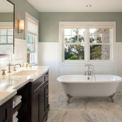 Living Rooms With Grey Sofas How To Decorate A Skinny Room Modern Craftsman - Traditional Bathroom San Diego By ...