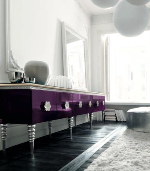Purple Sideboard by Altamoda
