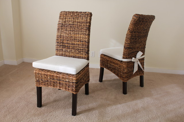 banana leaf dining room chairs used captain for vans chair with cushion contemporary other by james and furniture