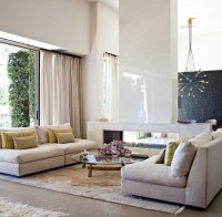 Hollywood Hills Home - Contemporary - Living Room - los ...