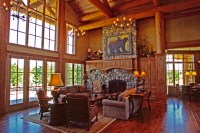 Mountain Lodge - Eclectic - Living Room - Portland - by ...