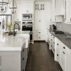 Prefab Commercial Kitchen Bar Table Concerto Gray Quartz Countertops | Q Premium Natural