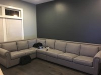 Grey Couch with Grey Walls, what color rug??