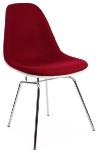 Mid Century Retro DSX Metal Leg Dining Lounge Side Chair ...