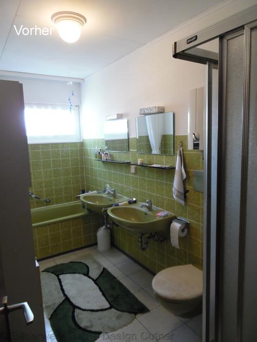 Badezimmer komplett Renovierung vorher  nachher
