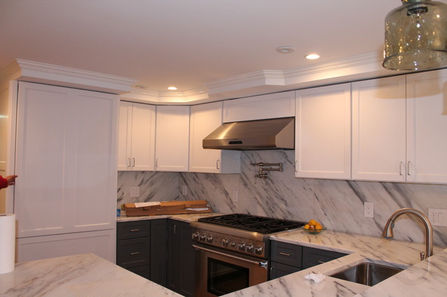 Unico High Velocity Heating and Air Conditioning  Contemporary  Kitchen  Boston  by Obie