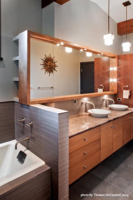 Jarratt MidCentury Modern  Midcentury  Bathroom  Austin  by CGS DesignBuild