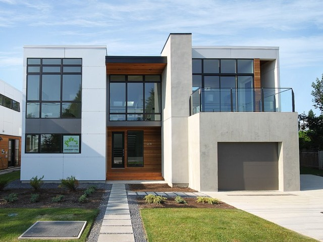 White Rock House II  Modern  Exterior  Seattle  by Method Homes