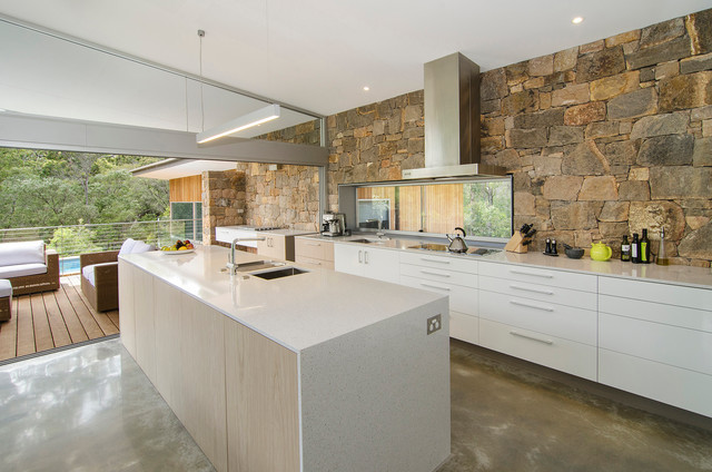 Redgate House contemporary-kitchen
