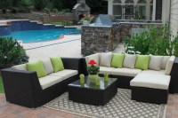 Outdoor Patio Paradise-Eurolux Patio Verano Wicker Sofa ...