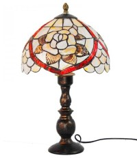 Sea Shell Flower Tiffany Style Table Lamp - Victorian ...