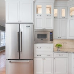 Kitchen Microwave Cabinet Pantry Storage 9 Places To Put The In Your
