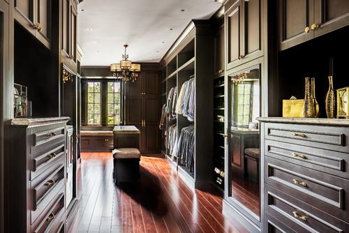 Colts Neck Burnished Black Luxury Closet