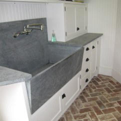 Outdoor Kitchen Sink Station Free Standing Eclectic Laundry Room