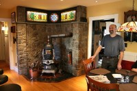 Steampunk Stove - Eclectic - Family Room - Atlanta - by ...