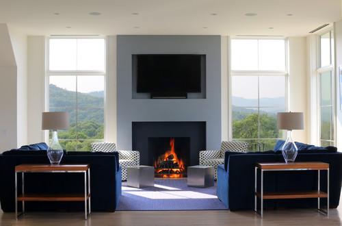 Camino e tv il punto focale del soggiorno u mobili di lillo