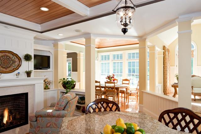 Open Floor Plan View Of Breakfast Room Addition