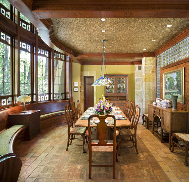 Arts & Crafts Residence  Dining Room  Traditional