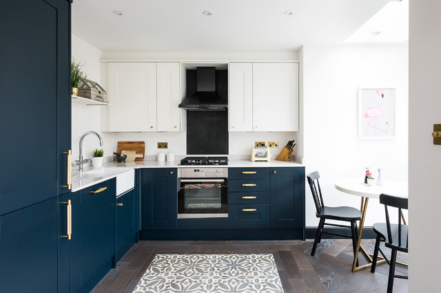 le carrelage de cuisine joue l effet tapis