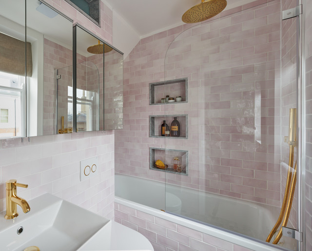 Bijou Marylebone Apartment Eclectic Living Room