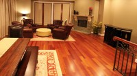 Brazilian Cherry Hardwood Flooring.