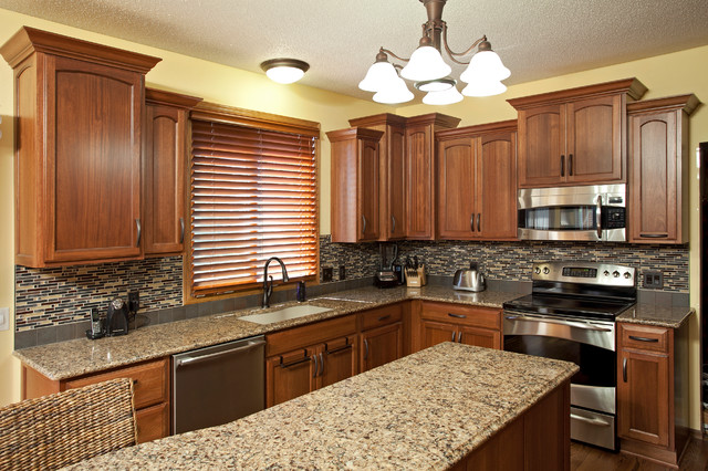 apple valley kitchen cabinets europa lyptus wood - traditional ...