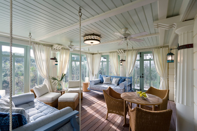 Screened Porch Curtain Ideas