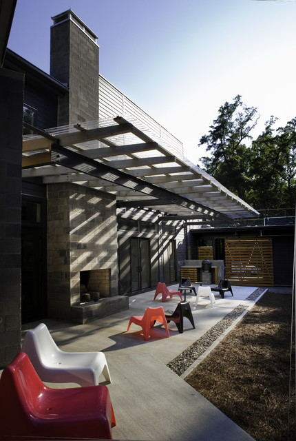 Althea Way House Modern Patio Wilmington By B O