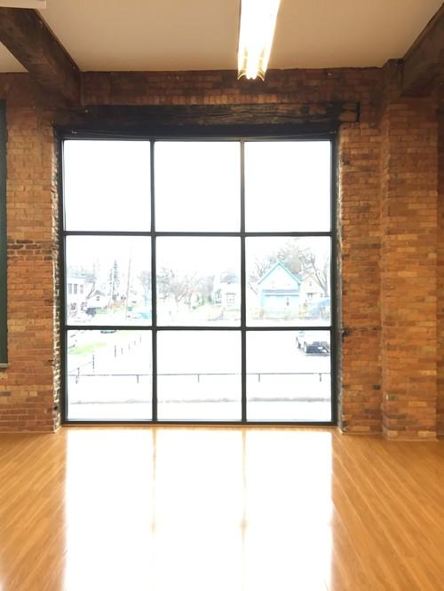 Window Treatment for Large Loft Window
