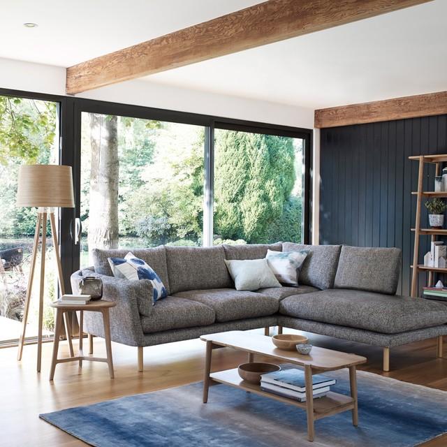 laminate flooring sunken living room cheap way to decorate john lewis scandi