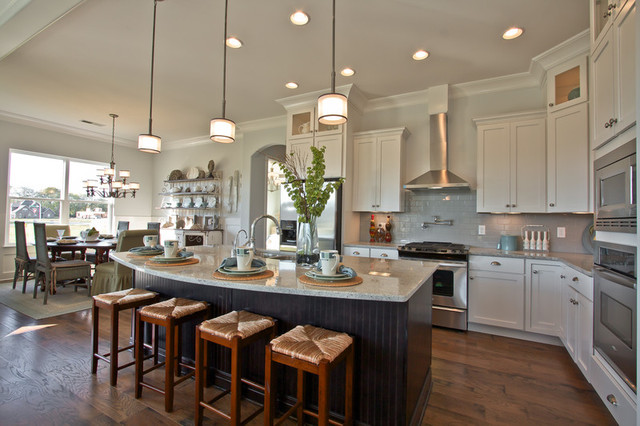 Designer Homes By Celebration Homes Rustic Kitchen Nashville