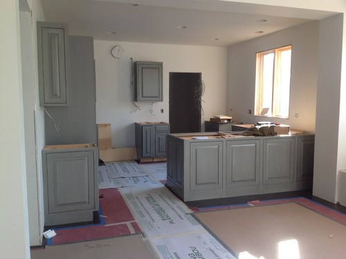 What color goes with grey kitchen cabinets - Suggested paint colors for kitchen ...