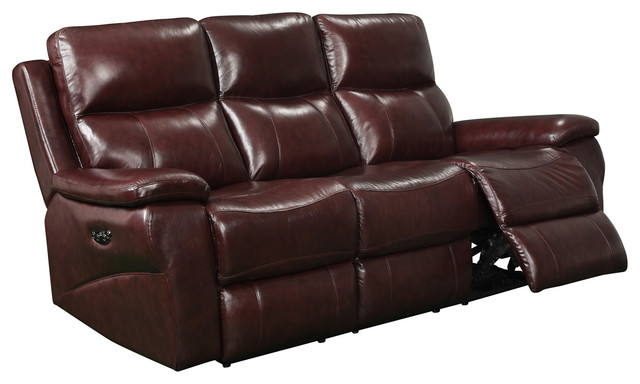 abbyson living belmont leather sofa cleaning edison nj italia usa shae power head transitional sofas by bedroom furniture discounts