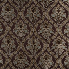 Brocade Sofa Fabric Model China Brown Light Blue Gold Ivory Traditional Upholstery By The Yard Palazzo Fabrics