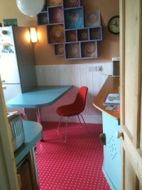 1950s inspired kitchen - Eclectic - Kitchen - london - by ...