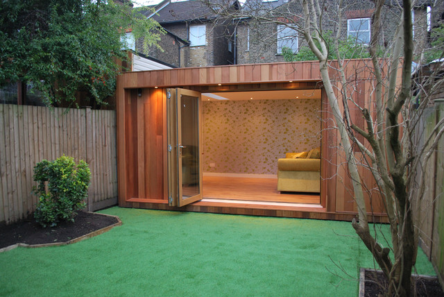 Garden Shed Home Offices Sprouting Up In Uk Sheds Garden Sheds And